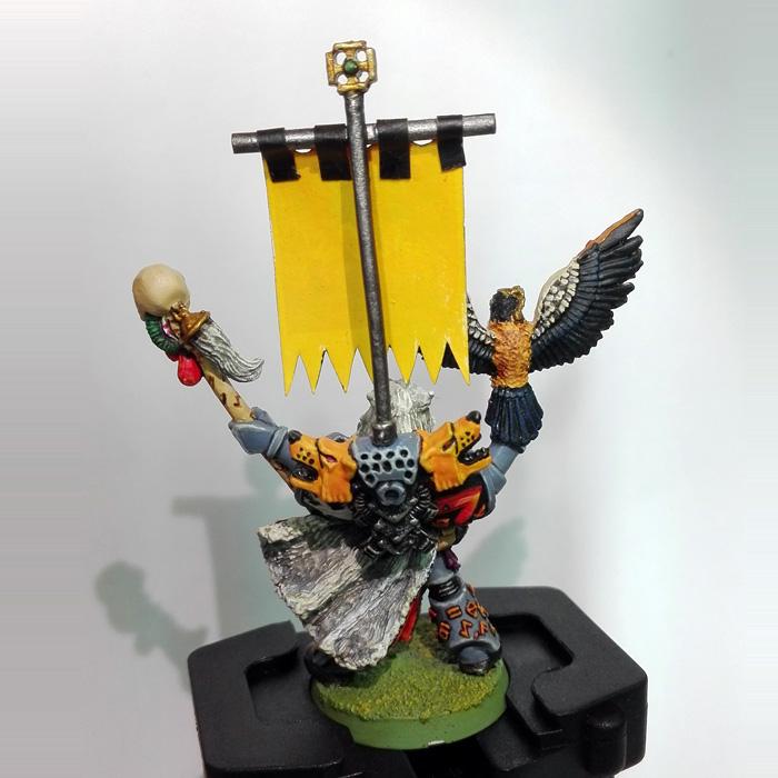 Njal Stormcaller, Rune Priest