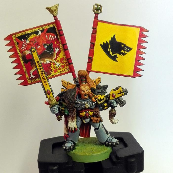 Ragnar Blackmane, Wolf Lord