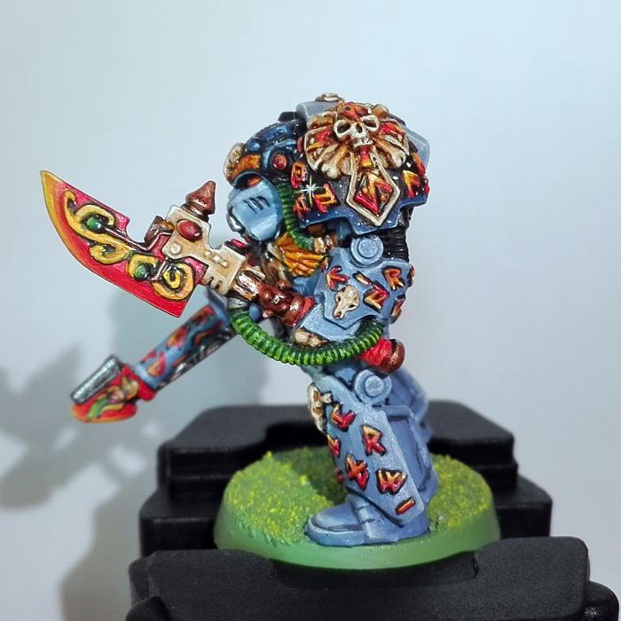 Rune Priest with Psycannon
