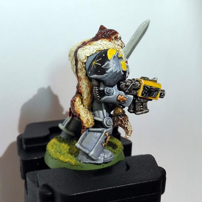 Wolf Guard in Terminator Armour