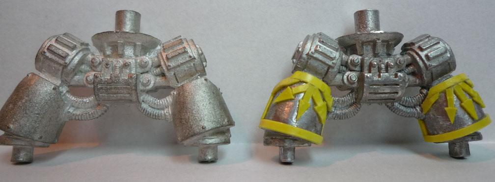 Comparativa de pierna normal y con detalles