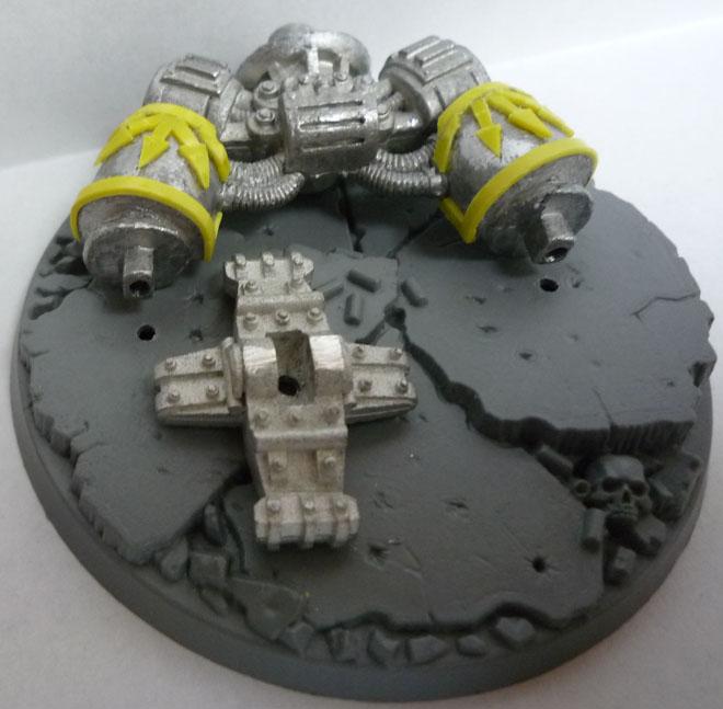 Pie de Dreadnought Orko y anclaje