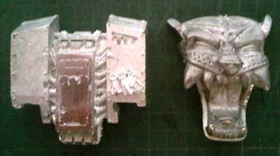 Limado de sarcofago y sarcofago nuevo